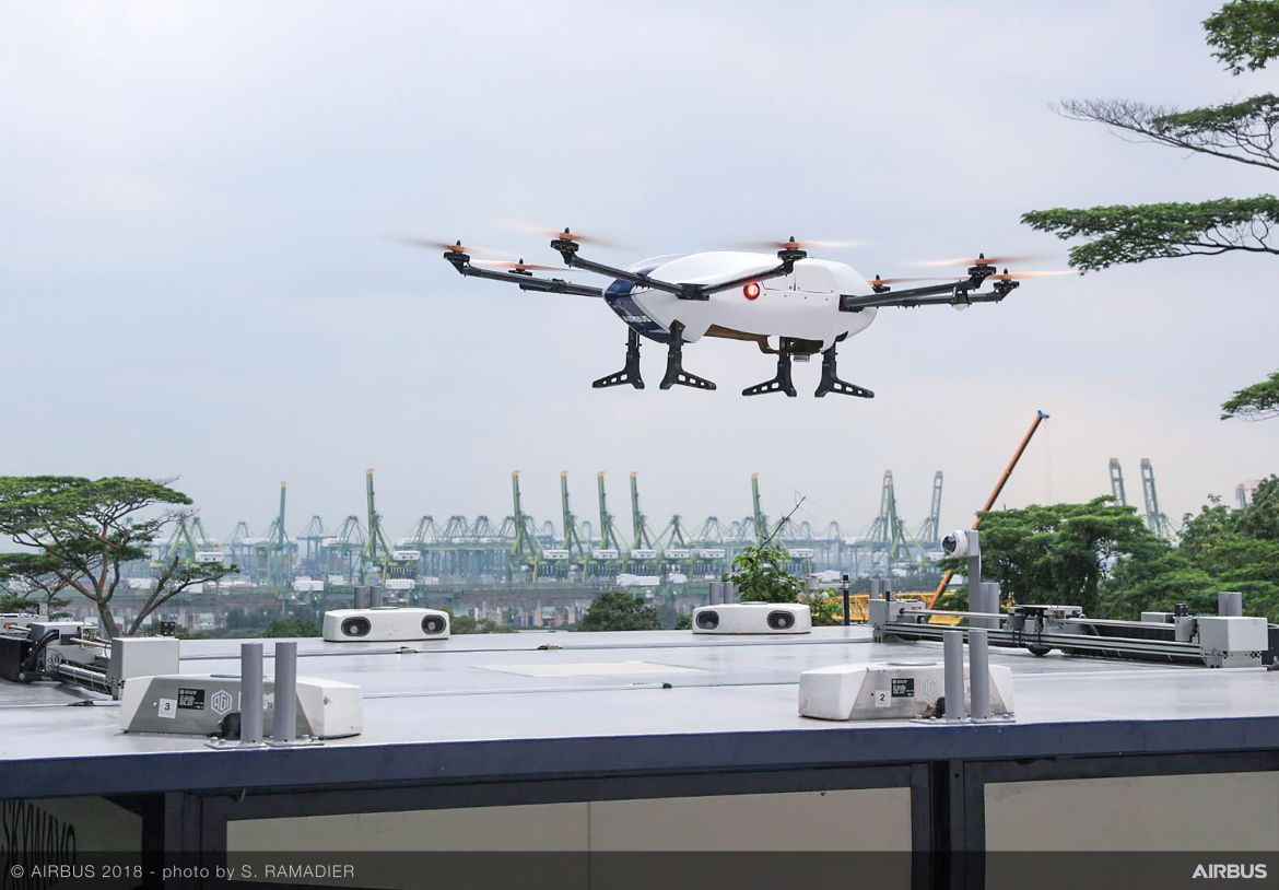 Skyways Urban Delivery Drone Solution