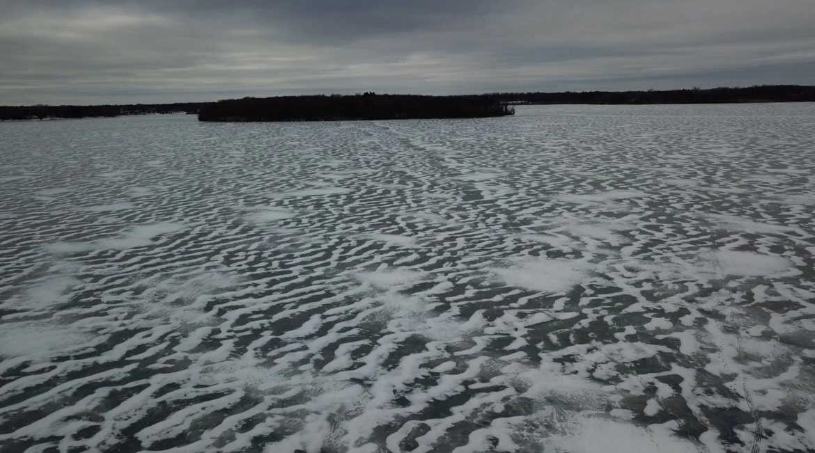 Frozen Orchard: Video Of TheDay