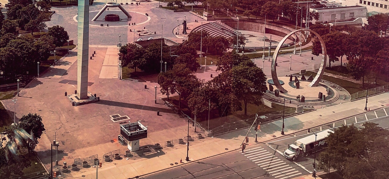 Hart Plaza, Detroit,Michigan