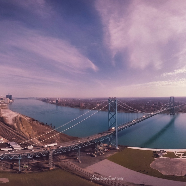 Ambassador Bridge, Detroit, Michigan