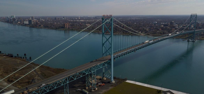 Ambassador Bridge – Clip Of TheDay