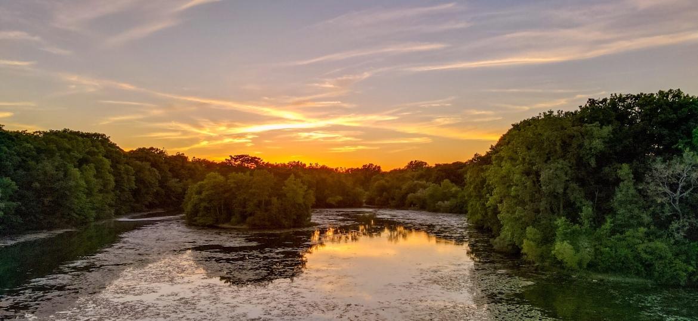 Newburgh Lake Sunset – Photo Of TheDay