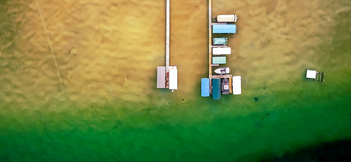 Higgins Lake, Michigan Top Down View – Photo Of The Day