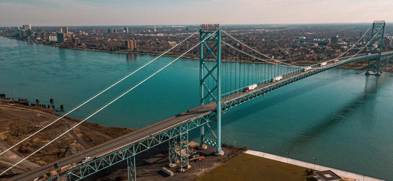 Ambassador Bridge – Detroit,Michigan