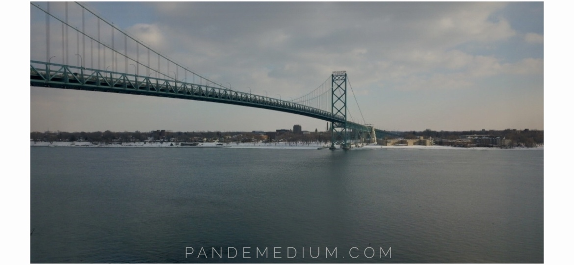 """Ahoy Ambassador"" – Photoshoot, Ambassador Bridge, Detroit, Michigan"